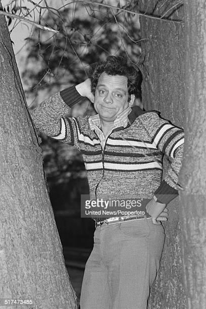 English actor David Jason posed in London on 11th December 1980