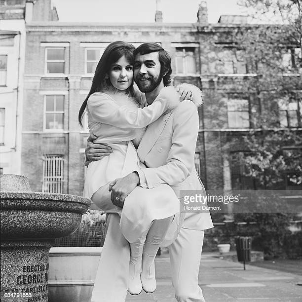 English actor John Alderton marries actress Pauline Collins at Chelsea Register Office London 22nd May 1970