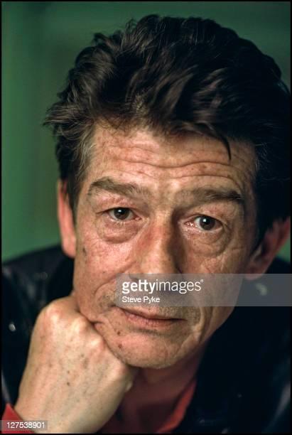 English actor John Hurt 8th March 1990