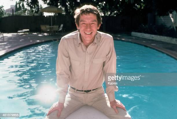 English actor John Hurt in California 1980s