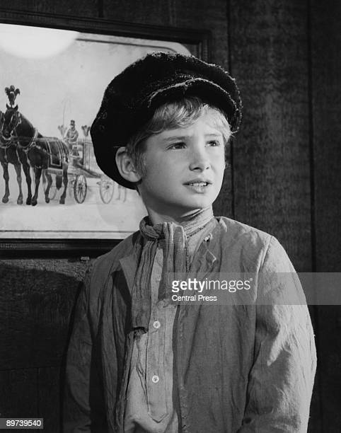 English actor Mark Lester plays the title role in the musical film 'Oliver' 1968