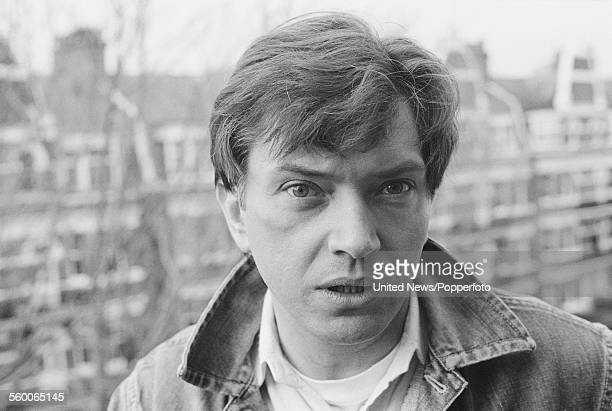 English actor Martin Shaw posed on a balcony in London on 27th January 1984