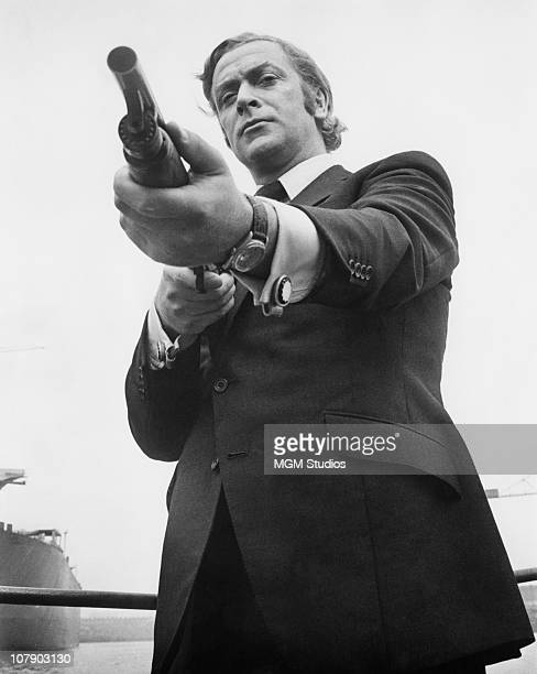English actor Michael Caine as Jack Carter in Mike Hodges' thriller 'Get Carter' 1970
