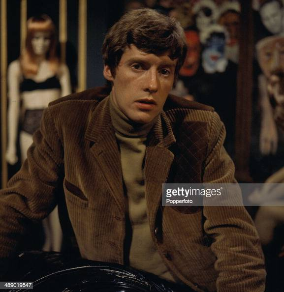 English actor Michael Crawford pictured on the set of the television drama 'The ThreeBarrelled Shotgun' in 1967