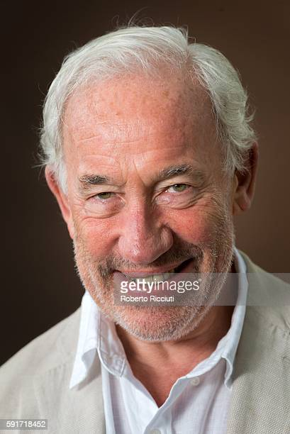 English actor musician writer and theatre director Simon Callow attends a photocall at Edinburgh International Book Festival at Charlotte Square...