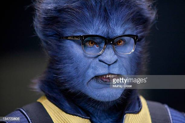 English actor Nicholas Hoult as Hank McCoy aka Beast in a scene from the film 'XMen First Class' 2011