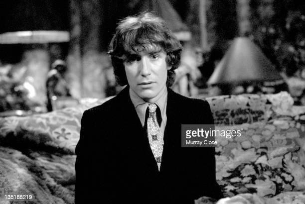 English actor Paul McGann films a scene for the movie 'Withnail I' 1986