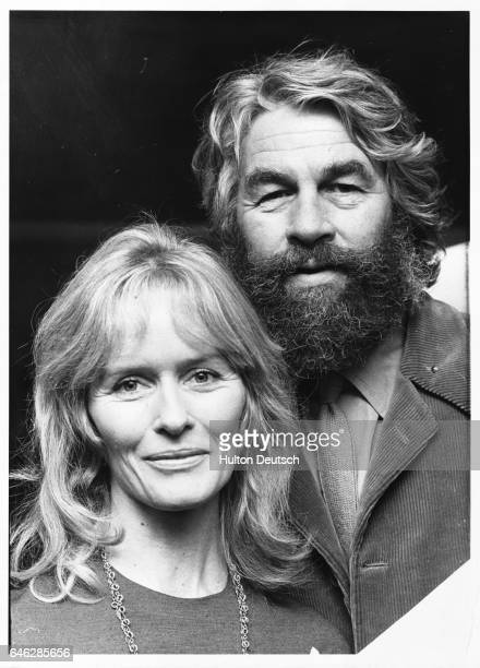 English actor producer and director Bill Travers with his wife English actress Virginia McKenna 1973
