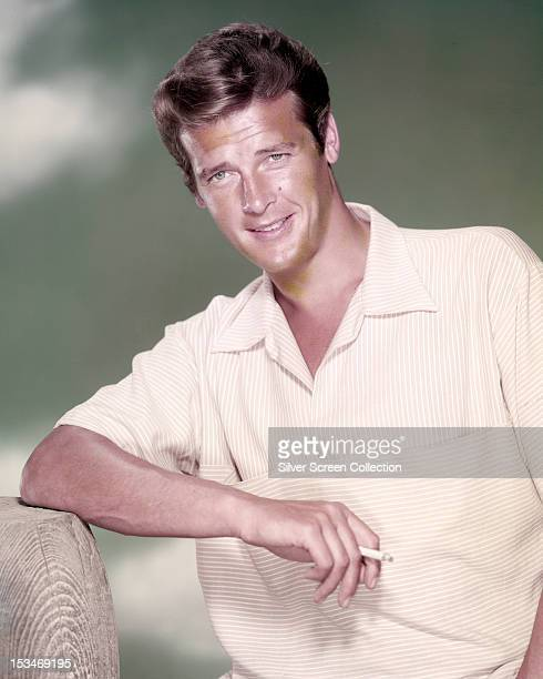 English actor Roger Moore circa 1958