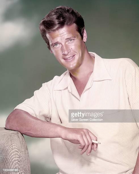 English actor Roger Moore circa 1958