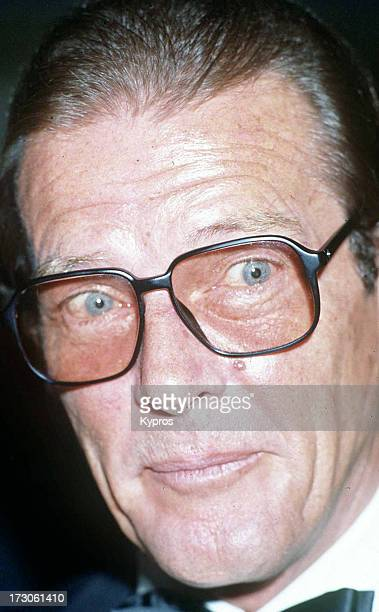 English actor Roger Moore circa 1995