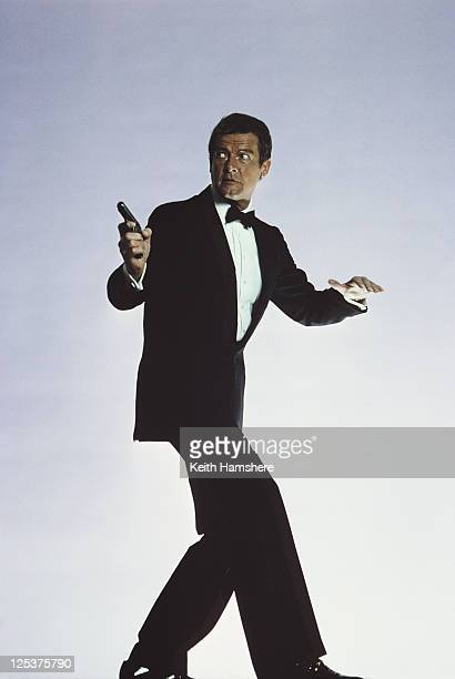 English actor Roger Moore stars as 007 in the James Bond film 'For Your Eyes Only' March 1981