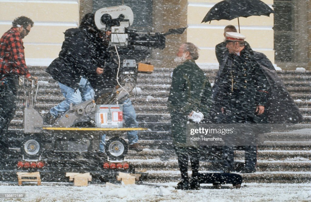 English actor <a gi-track='captionPersonalityLinkClicked' href=/galleries/search?phrase=Sean+Bean&family=editorial&specificpeople=160620 ng-click='$event.stopPropagation()'>Sean Bean</a> as Vronsky on the set of the film 'Leo Tolstoy's Anna Karenina', 1997. The movie was filmed on location in Russia.