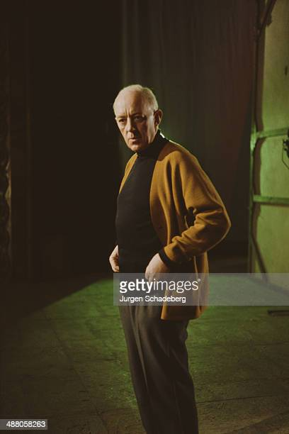 English actor Sir Alec Guinness circa 1980