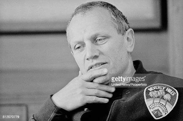 English actor Steven Berkoff posed in London on 11th February 1985