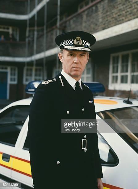 English actor Tim Piggott Smith as John Stafford aka 'The Chief' in the ITV television crime drama series UK circa 1990