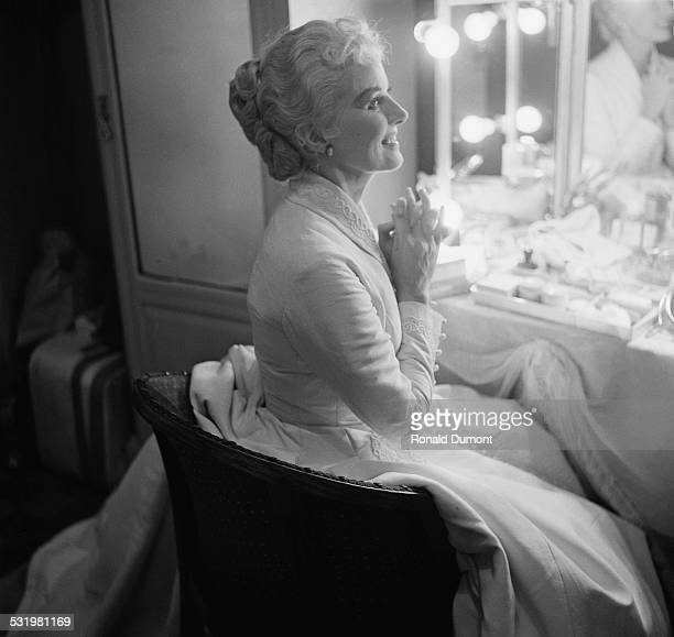 English actress and producer Ann Todd takes Claire Bloom's role in 'Duel of Angels' 1st June 1958