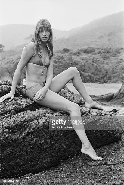 English actress and singer Jane Birkin 18th May 1969