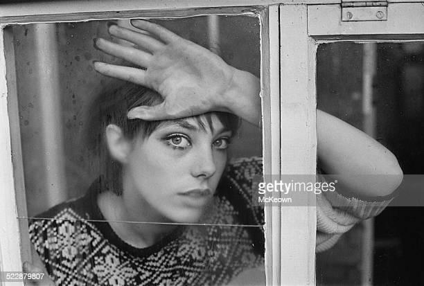English actress and singer Jane Birkin 1964