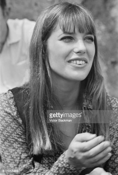 English actress and singer Jane Birkin 1969