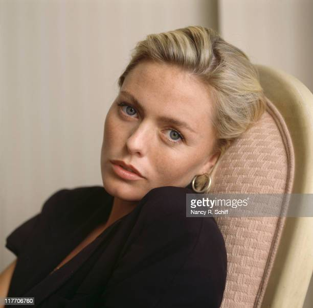 English actress and singer Patsy Kensit 1989