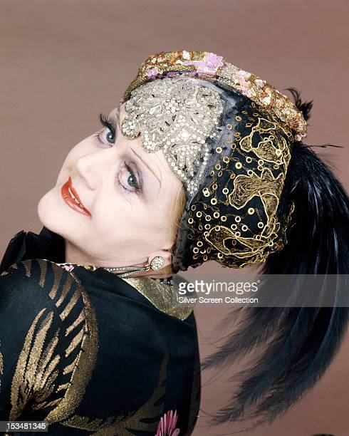 English actress Angela Lansbury as Salome Otterbourne in 'Death On The Nile' directed by John Guillermin 1978