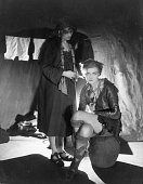 English actress Dame Gladys Cooper as Peter Pan