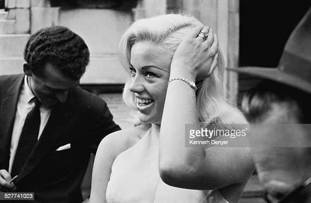 English actress Diana Dors 29th August 1958