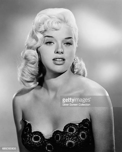 English actress Diana Dors circa 1955