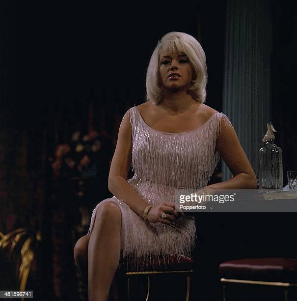 1968 English actress Diana Dors pictured in a scene from the television drama series 'The Unusual Miss Mulberry I'll Take Care of Everything' in 1968