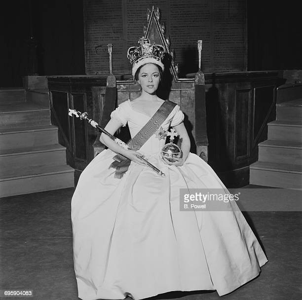 English actress Dorothy Tutin as Queen Victoria in the play 'Portrait of a Queen' UK 27th April 1965