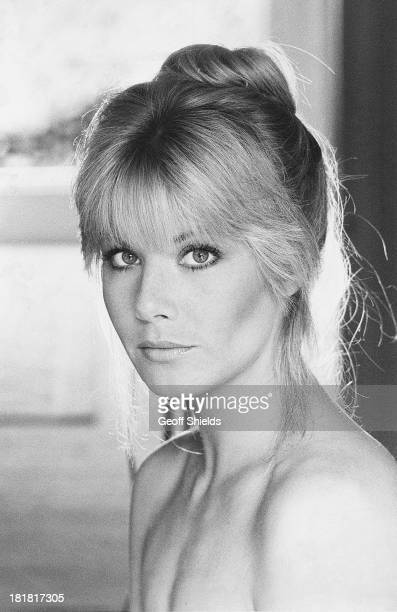 English actress Glynis Barber London 1981