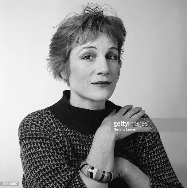 English actress Harriet Walter circa 1985