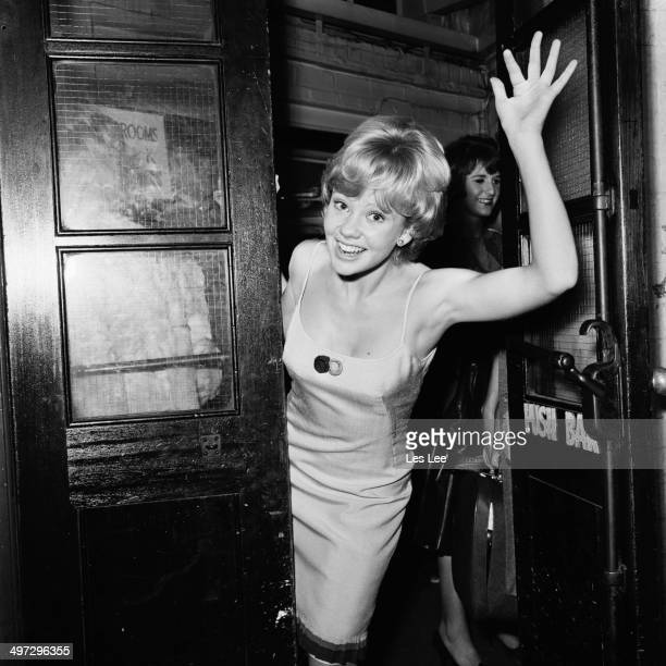 English actress Hayley Mills takes part in the 'Night of 100 Stars' at the London Palladium 23rd July 1964
