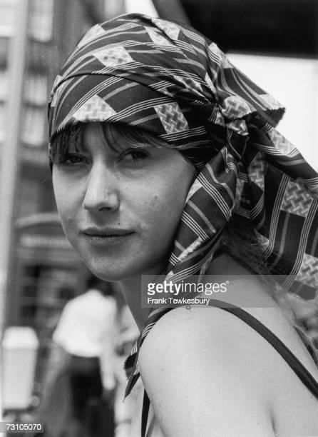 English actress Helen Mirren in London 28th July 1975