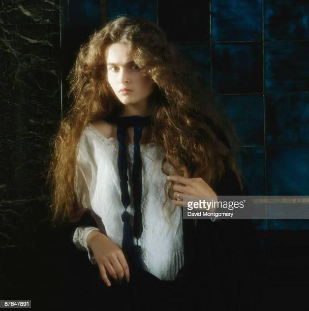 English actress Helena Bonham Carter circa 1985
