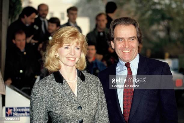 English actress Jane Asher and her husband Gerald Scarfe in 1990 ca in London England
