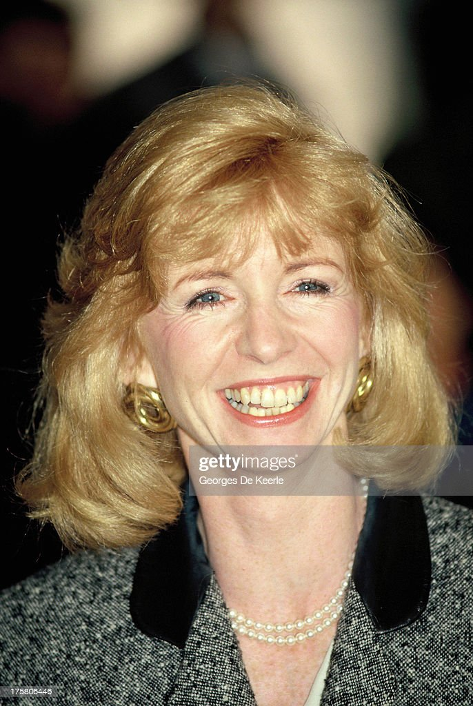 English actress Jane Asher in 1990 ca. in London, England.