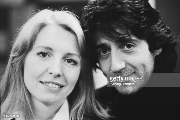 English actress Jane Asher with Tom Conti 7th February 1978