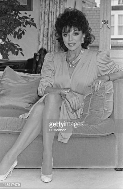 English actress Joan Collins 23rd October 1984