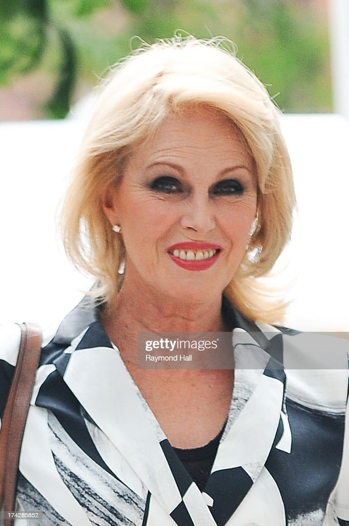 English Actress <a gi-track='captionPersonalityLinkClicked' href=/galleries/search?phrase=Joanna+Lumley&family=editorial&specificpeople=206307 ng-click='$event.stopPropagation()'>Joanna Lumley</a> is seen on the set of 'Squirrels to the Nuts' on July 23, 2013 in New York City.