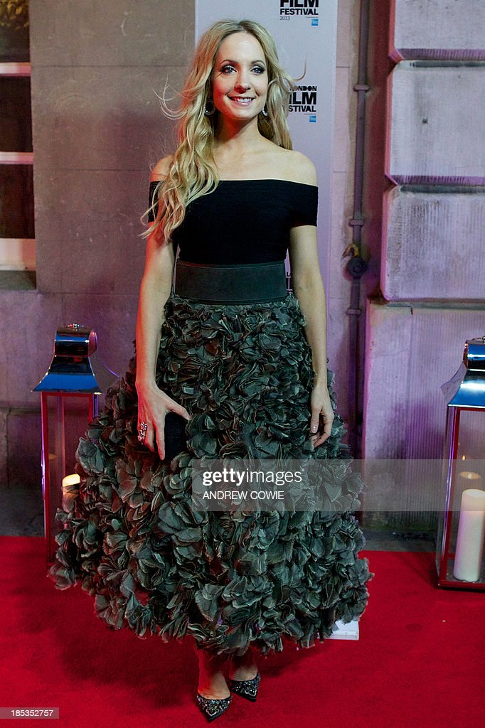 English actress Joanne Froggatt attends the BFI London Film Festival Awards during the London Film Festival in central London, on October 19, 2013. AFP PHOTO/ANDREW COWIE