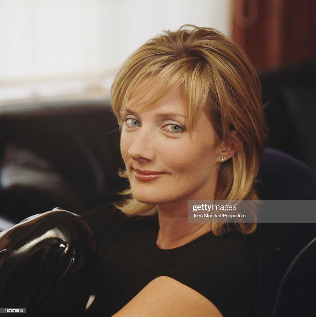 English actress Joely Richardson, 1996.
