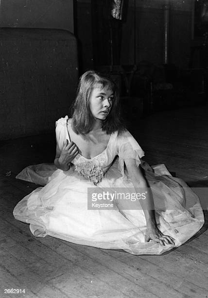 English actress Judi Dench as 'Ophelia' at the Old Vic Theatre London