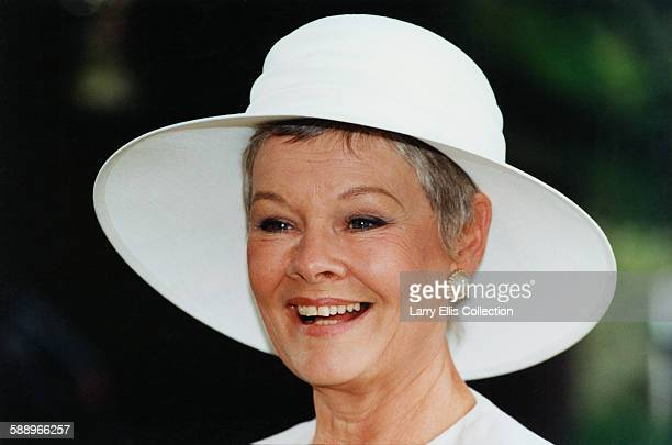 English actress Judi Dench circa 1995