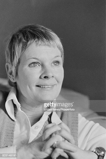 English actress Judi Dench pictured in London on 6th February 1979