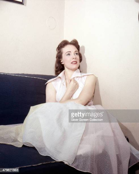 English actress Julie Andrews circa 1955