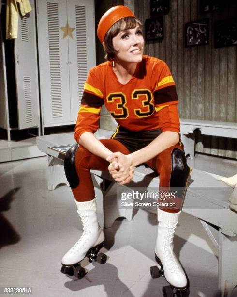 English actress Julie Andrews in roller derby gear on The Julie Andrews Hour Episode 2 1972