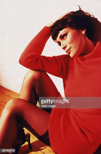 English actress Keeley Hawes circa 2000