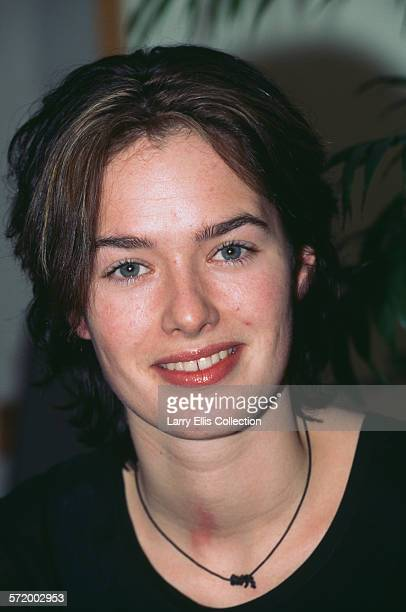 English actress Lena Headey in a promotional shoot for the second series of the British television drama 'Band of Gold' 19th February 1996